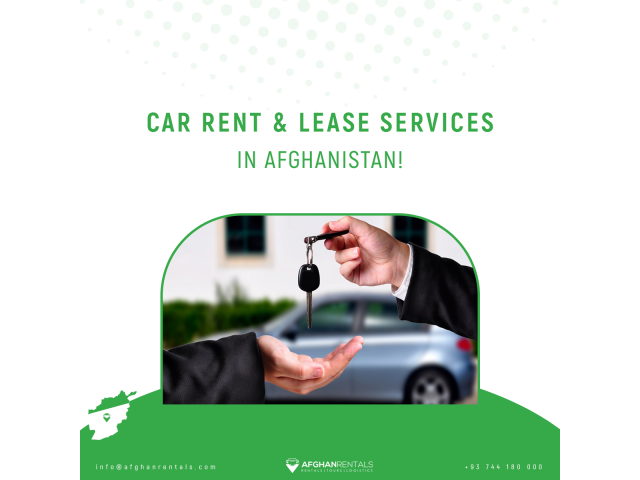 Car Rent & Lease services in Afghanistan