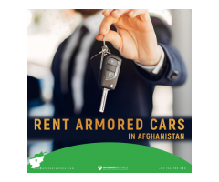 Rent Armored Cars in Afghanistan